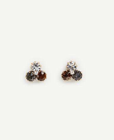 Image of Crystal Cluster Earrings