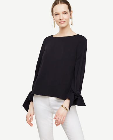 Image of Tie Sleeve Top