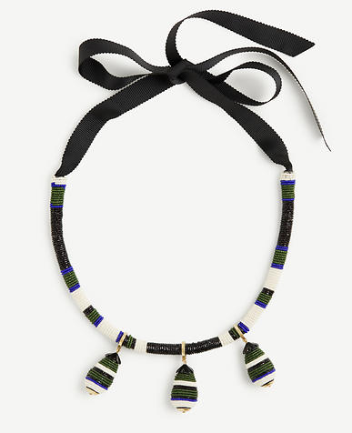 Image of Seed Bead Statement Necklace