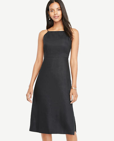 Image of Spaghetti Strap Midi Dress