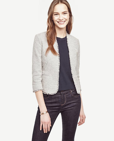 Image of Tall Marled Bolero Jacket