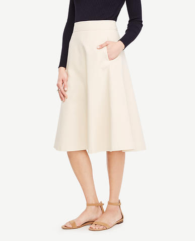 Image of Tall Side Pocket Circle Skirt
