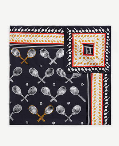 Image of Tennis Racquet Silk Little Scarf