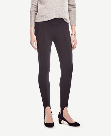 Image of Petite Ponte Stirrup Leggings