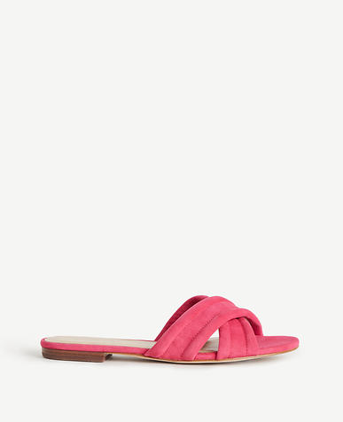 Image of Gretel Suede Slides