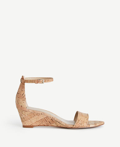 Image of Petra Cork Wedge Sandals