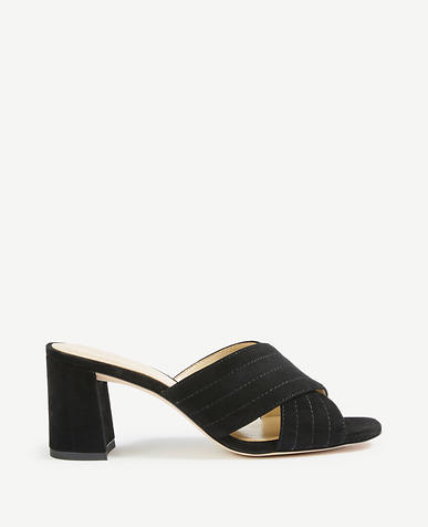 Honor Suede Heeled Sandals
