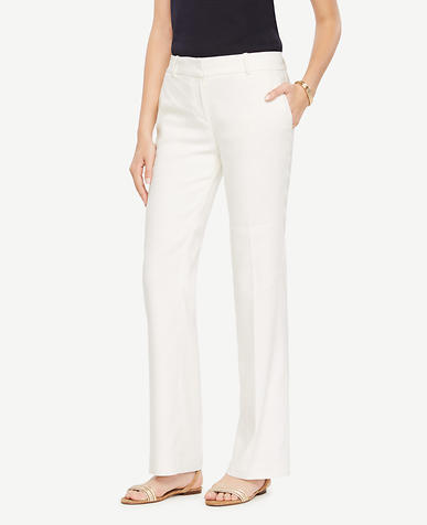 Image of The Tall Trouser in Linen Blend - Devin Fit