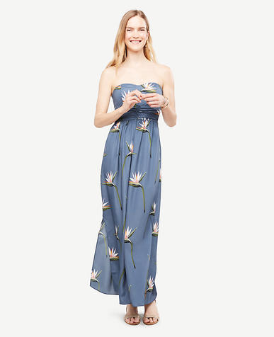 Image of Paradise Strapless Maxi Dress