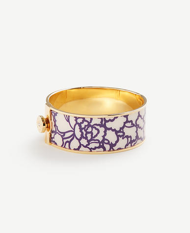 Enamel Garden Bangle