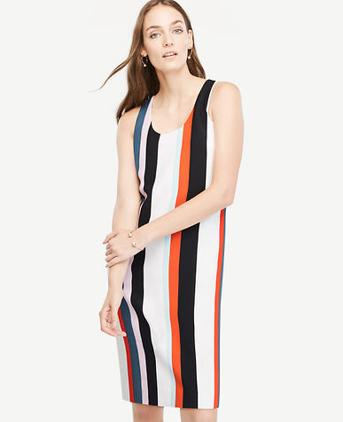 Image of Striped Tank Shift Dress