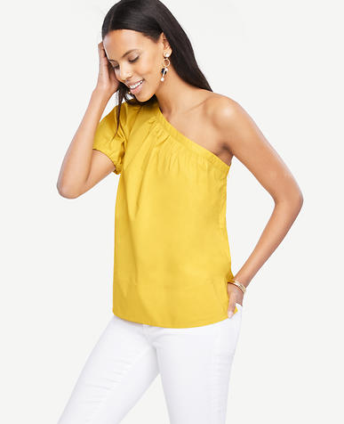 Image of One Shoulder Top