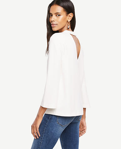 Image of Back Cutout Top
