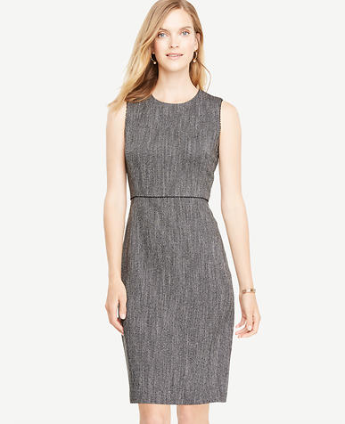 Image of Herringbone Sheath Dress