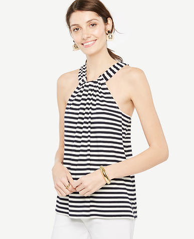 Image of Stripe Knot Back Halter