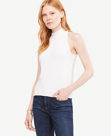 Image of Petite Essential Halter Top