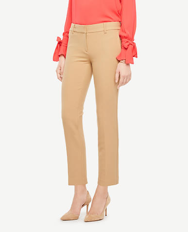 The Ankle Pant In Double Cloth - Devin Fit