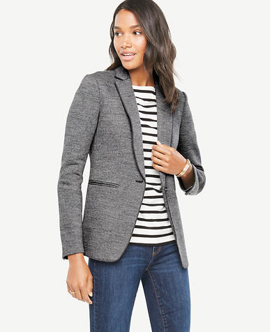 Image of Relaxed Longline Blazer