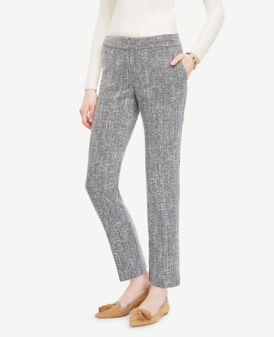 Image of The Tall Ankle Pant In Tweed - Devin Fit