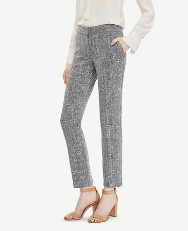 Image of The Tall Ankle Pant In Tweed - Kate Fit