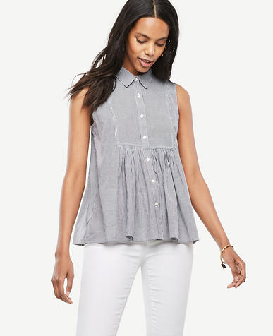 Image of Gingham Bib Swing Top