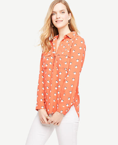 Image of Orange Blossom Camp Shirt