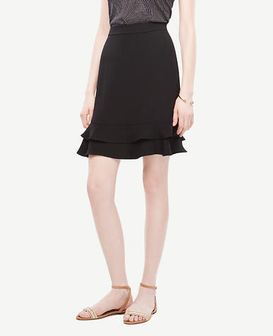 Image of A-Line Flounce Skirt