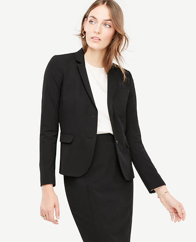 Seasonless Stretch Two Button Perfect Blazer