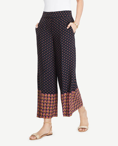 Image of The Tall Geo Wide Leg Marina Pant