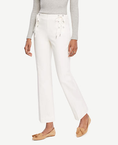 Image of Petite Lace Up Pants