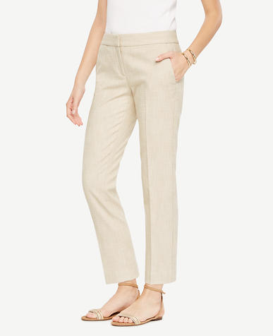 Image of The Petite Ankle Pant in Texture - Devin Fit