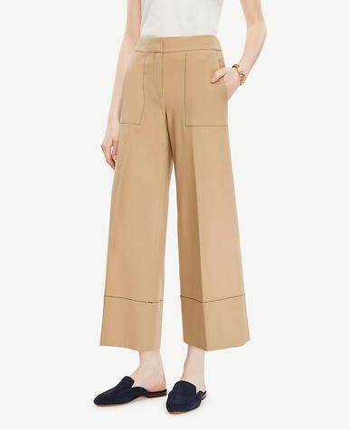 Image of The Petite Wide Leg Marina Pant