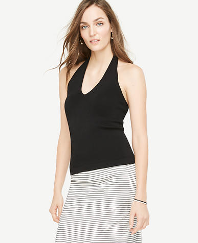 Image of Petite Halter Sweater