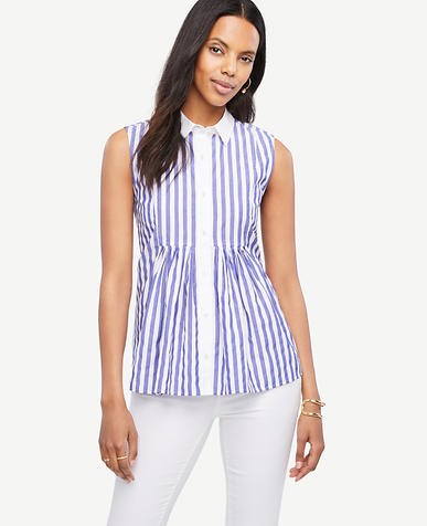 Image of Striped Bib Swing Top