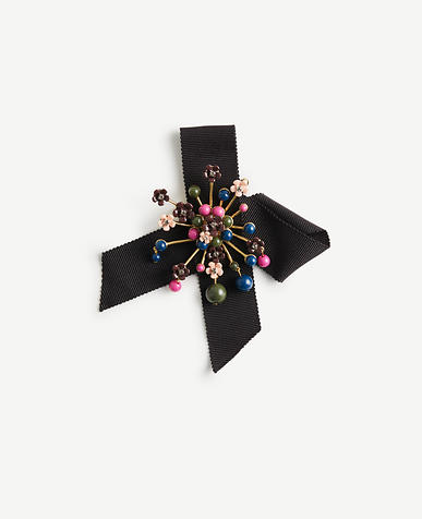 Flower Burst Ribbon Pin