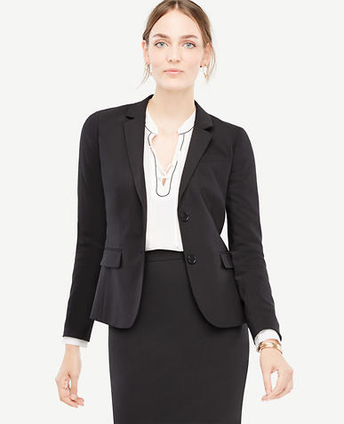 Image of Tall Tropical Wool Two Button Jacket