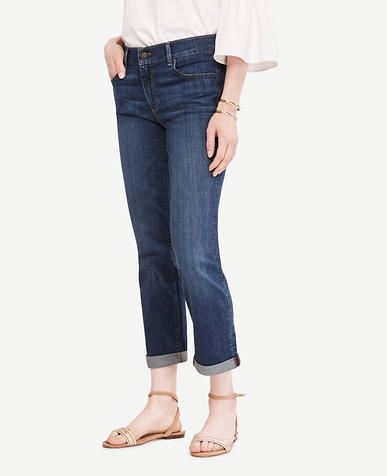 Image of Petite High Rise Slim Cropped Jeans