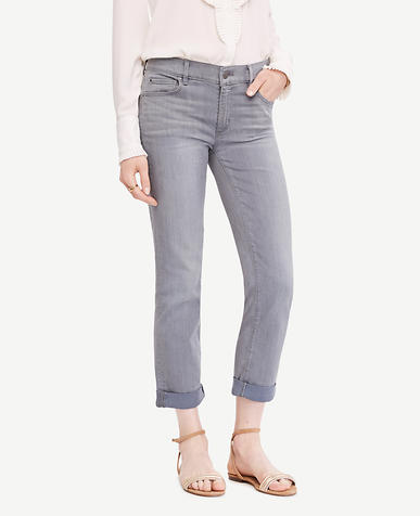 Image of Petite Slim Cropped Jeans