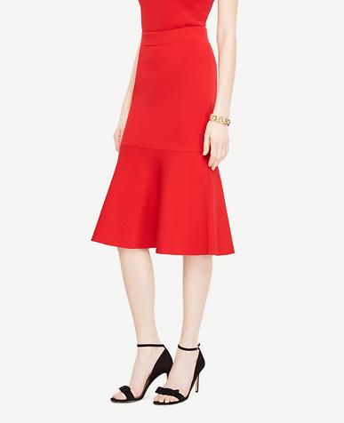 Flared Flounce Skirt