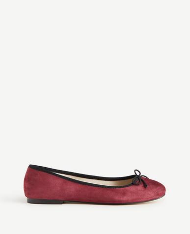 Matilde Suede Ballet Flats