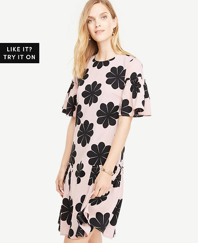 Image of Tall Flower Power Shift Dress