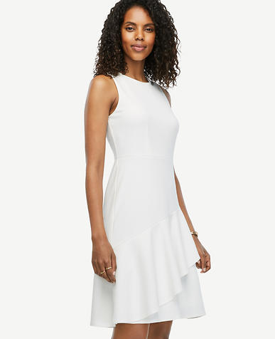 Image of Sleeveless Ruffle Dress