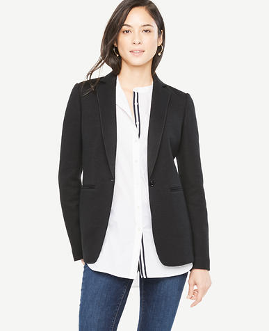 Image of Petite Relaxed Longline Blazer