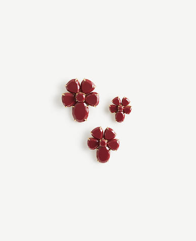 Resin Flower Pin Set