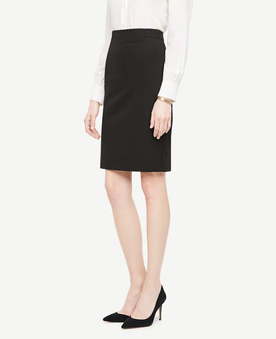 Tall Seasonless Stretch Seamed Pencil Skirt