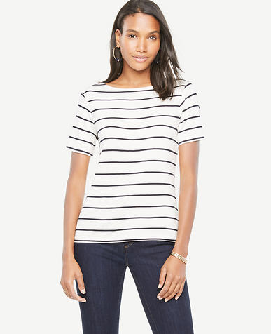 Image of Striped Knit Top