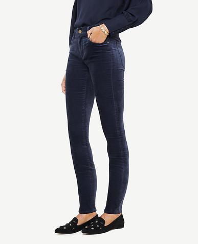 Tall Modern Skinny Velvet Jeans