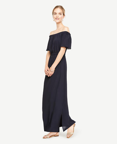 Image of Off The Shoulder Maxi Dress