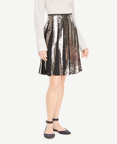 Sequin Full Skirt
