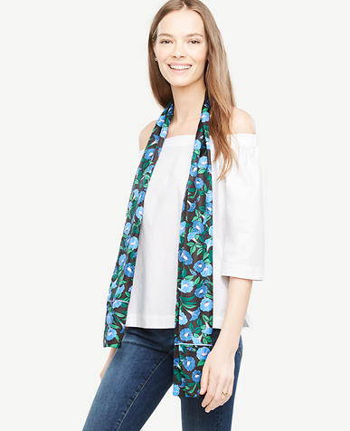 Image of Garden Silk Scarf